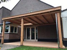 veranda van douglashout met plat dak en lichtkoepel Outdoor Decor, Home Decor, Interior Design, Home Interior Design, Home Decoration, Decoration Home, Interior Decorating