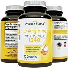 100% Pure L-arginine   L Citruline -Premium Amino Acids Strength for Pre work Out and Energy Enhancement for Men -Support Nitric Oxide -1000 mg Per Capsules -Natural Supplement Booster by Nature Bound -- Read more  at the image link.