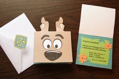 Scooby Doo Party Printables with invitation.