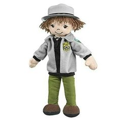 Junior Park Ranger Plush Toy: The Park Ranger is an integral part of the National Park system. Park Rangers help people every day to stay safe and app Trees To Plant, Ranger, Plush, Park, Toys, Projects, Fictional Characters, Gift Ideas, Short Hair