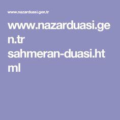 www.nazarduasi.gen.tr sahmeran-duasi.html