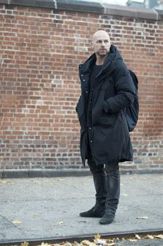 Dennis Stenild...An Unknown Quantity | New York Fashion Street Style | ストリートスナップ