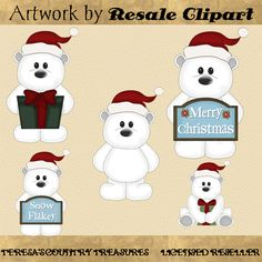 Polar Bears Clipart