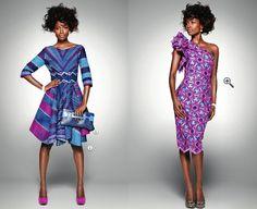 ankara  dresses | Along Mod Avenue: Delicate Shades: New Ankara Fabrics by Vlisco