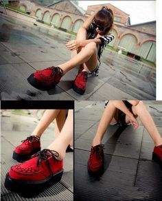 Red creepers
