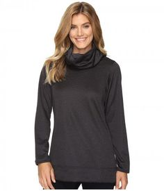 ExOfficio - Tatra Reversible Pullover (Carbon) Women's Long Sleeve Pullover