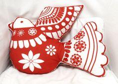 kit coussin oiseau en vente sur  http://www.spoonflower.com/fabric/995291