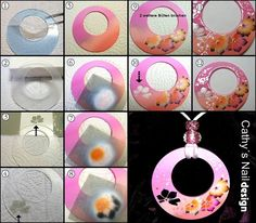 Uv Gel, Airbrush, Washer Necklace, Nail Art, Diy, Jewelry, Schmuck, Wristlets, Tutorials