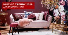 Jaké designové trendy, barvy a materiály přináší rok 2019? Na prvním místě je šetrnost k životnímu prostředí a hned za tím pak důraz na multifunkčnost předmětů v interiéru. Vyplývá to ze stále větší urbanizace a s ní spojené potřeby zařizovat malé byty. Proto se na trhu objevují kompaktní a skládací kusy nábytku s více funkcemi. Love Seat, Couch, Furniture, Design, Home Decor, Settee, Decoration Home, Sofa, Room Decor
