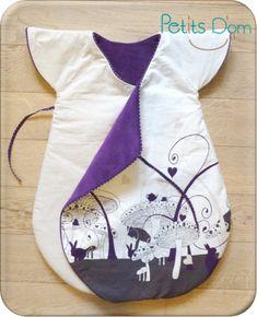 Turbulette BB Gro Bag, turbulette, gigoteuse. Patron gratuit, free pattern : http://shop.kallou.fr/patrons-et-livres-de-couture/459-patrons-kallou.html