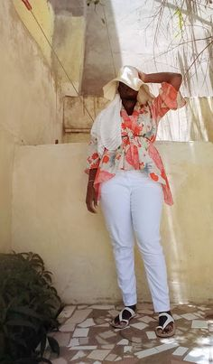 White Jeans Daily Style, My Style, Shameless Plug, White Sandals, Work Looks, Work Blouse, Summer Hats, Dress And Heels, White Tank