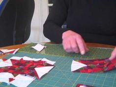 How to Quilt - Evening Star quilt block Video