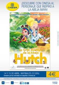 'La Gran Aventura de la Abeja Hutch' en cines