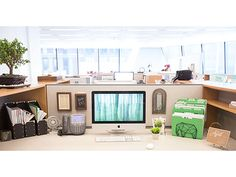 chi meets chic: fabulous decor to feng shui your desk | chic