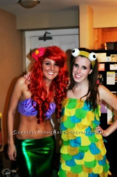 Coolest Homemade Ariel Costume