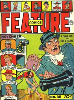 Feature Comics (Volume) - Comic Vine