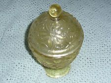 Vintage AVON Candle Holder Yellow/Gold color  $3.00 0 bids