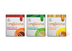 Singabera Ginger Tea on Packaging of the World - Creative Package Design Gallery