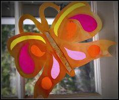 DIY Children's : DIY  Beautiful Paper Butterflies!