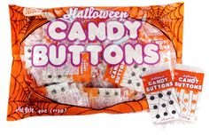 Halloween Candy Buttons Mini Srips 32ct.
