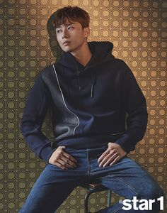 Park Seo Joon For October 2017 @Star1 | Couch Kimchi