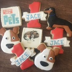 #TheSecretLifeofPets  #firstbirthdaycookies