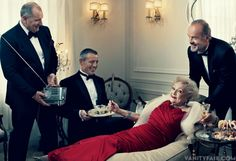 Ed O'Neill, Matt LeBlanc, Betty White and Kelsey Grammer - The Vanity Fair Television Issue