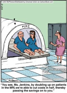 Two for the Price of One ~  Amen for it ! All for saving a Buck!   Radiology Cartoons, Radiology Cartoon, funny, Radiology picture, Radiology pictures, Radiology image, Radiology images, Radiology illustration, Radiology illustrations