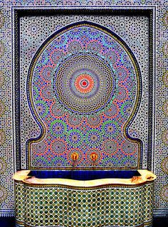 hiyah-beijing:  Islamic Art Water Fountain by boffo1234567 on Flickr.