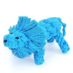 IKING Braided Lions Teeth Clean Pet Toys Puppy Cotton Rope Toys,Blue * You can find out more details at the link of the image. #DogCare