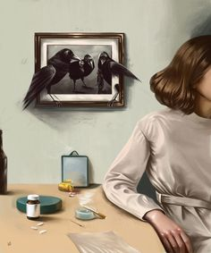Time,crow and the girl