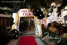 Movie Theme Bar Mitzvah Event Decor Party Perfect Boca Raton, FL 1(561)994-8833