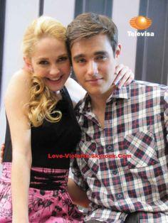 #Violetta Mechi y Jorge