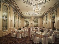 Absolutely gorgeous! The Sheraton Read House - Silver Ballroom - Chattanooga, TN