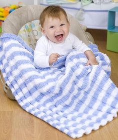 Heaven Sent Baby Blanket Knitting Pattern | Red Heart