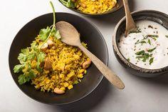 Spiced Basmati Rice and Sweet Corn Pilaf