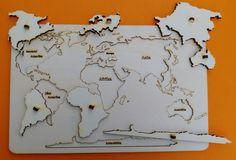 Vkládačka kontinenty