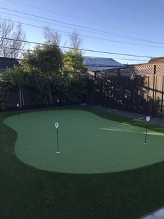 Putting Green Project in San Mateo: Happy Customer Shares His Second Putting Green on Yelp