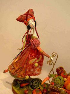 Art Dolls by Anna Zueva, via Flickr - So many pages of beautiful art dolls: http://www.flickr.com/photos/annazueva