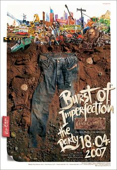 Sandy Karman  Levi s Burst of Imperfection Poster (Levi s Copper Launching)  Yearbook Staff a2e3ffa960