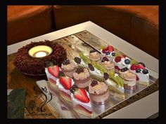 Semifredá, recept | Tortyodmamy.sk Desserts, Anna, Fine Dining, Tailgate Desserts, Deserts, Postres, Dessert, Plated Desserts