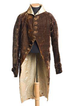 Velvet coat, 1811 | by Charleston Museum