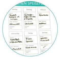 Essensplan single haushalt