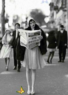 &  Tarihten nadir fotoğraflar<br> Mode Vintage, Vintage Love, Retro Vintage, Vintage Paris, Vintage Black, Vintage Gucci, French Vintage, Vintage Style, Roaring Twenties