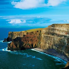 "★ Cliffs of Moher -- Lahinch, County Clare -- From TripAdvisor: ""This was my number one to do in Ireland, and I was not disappointed. If you can visit one thing in Ireland, see the Cliffs, they are amazing."" ""Would recommend going during the week and not Friday, Saturday, and Sunday."""