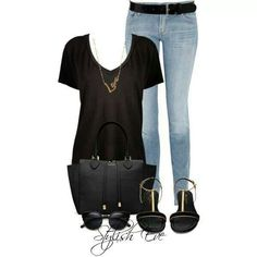 A cute going out outfit.
