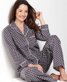 c31dc17abd Alfani Top and Flannel Pajama Pants Women - Bras