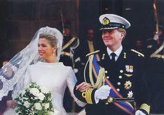 Prince Willem-Alexander and Maxima Zorreguieta from Argentine 2002