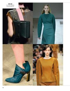 Next Look Colour Usage A/W 2015/16 - WOMEN
