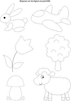 Free printable shapes worksheets for toddlers and preschoolers. Preschool shapes activities such as find and color, tracing shapes and shapes coloring pages. Preschool Learning Activities, Free Preschool, Writing Activities, Teaching Kids, Kids Learning, Preschool Writing, Numbers Preschool, Kindergarten Math Worksheets, Shapes Worksheets